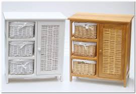 Wicker Basket Bathroom Storage Bathroom Storage Cabinet Need More Space To Put Bath Items
