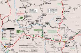 Colorado National Monument Map by John Day Fossil Beds National Monument Oregon National Park