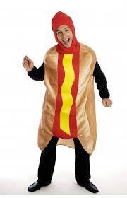 Hotdog Halloween Costume Novelty Fancy Dress Costumes Accessories Men
