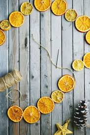 best 25 minimalist christmas ideas on pinterest simple this dried citrus garland will add scandinavian charm and a fresh scent to your home christmas 2017diy christmaschristmas decorationsminimalist