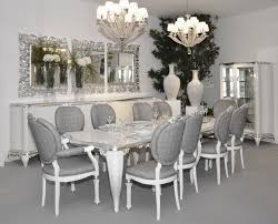 Silver Dining Room Silver Dining Table And Chairs Alluring Decor Silver