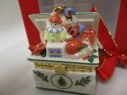 spode ornament tree chest trinket box free shipping