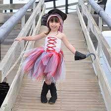 Girls Halloween Pirate Costume Costume Tutu Picture Detailed Picture Handmade
