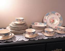 dinnerware set etsy