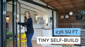 family of 4 in 236 sq ft modern tiny house architects selfbuild