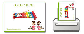 picture cards baby sign language flash cards