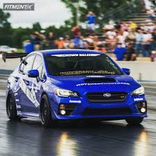 subaru wrx all black 2015 subaru wrx sti aodhn ds01 air lift performance bagged