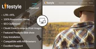 lifestyle opencart responsive theme by templatemela themeforest