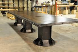 Vintage Conference Table I Beam Conference Table Vintage Industrial Furniture