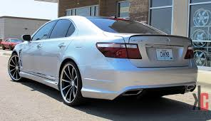 lexus wheels ls 460 kc trends showcase 22 vossen cv1 on a lexus ls460 with a full