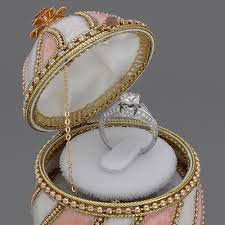 wedding ring in a box wedding ring box musical engagement ring box