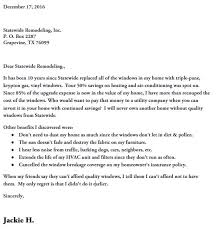 customer thank you letter statewide remodeling blog
