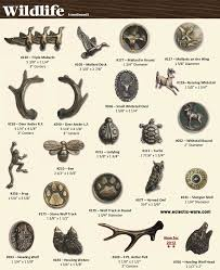 themed knobs bucksnort wildlife animal cabinet pulls eclectic ware