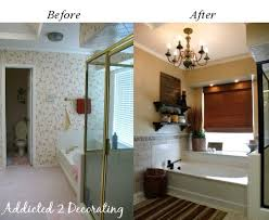 Bathroom Before And After Photos Makeover Before And After