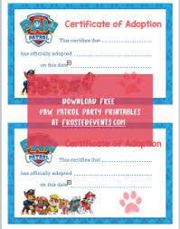 paw patrol party ideas free paw patrol birthday printables