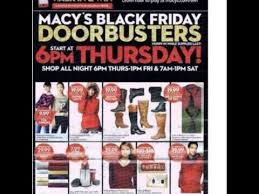 black friday magazine macy u0027s black friday 2015 ad youtube