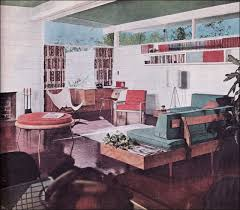 Better Home Interiors by 1954 Modern Living Room Vintage Living Room Design Of The Mid
