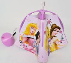 disney princess children u0027s pendant ceiling light fitting with lamp