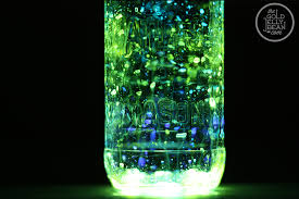 Glow In The Dark Lights Making Glow Jars The Gold Jellybean