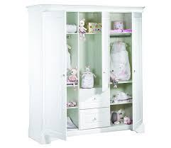 chambre sauthon elodie armoire 3 volumes sauthon elodie blanc sauthon signature bébé et