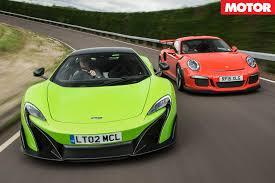 porsche 911 gt3 rs green porsche 911 gt3 rs vs mclaren 675lt motor