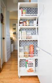 Small Space Kitchen Cabinets 40 Organization And Storage Hacks For Small Kitchens Storage