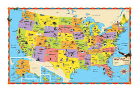 Usa Tourist Attractions Map by