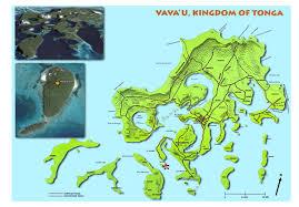 tonga map vavau island map tonga mappery