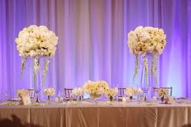 Small Centerpieces A Classic Romantic Celebration With Lush Florals In Beverly Hills