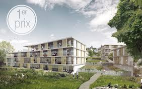 bureau du logement architectes projet lauréat au concours de logements à