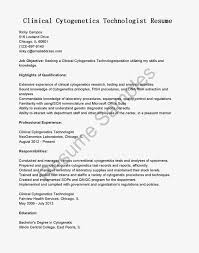 Qa Qc Resume Sample by Resume Samples Clinical Cytogenetics Technologist Resume Sample