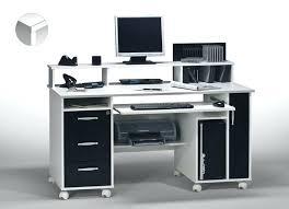 bureau ordinateur blanc laqué bureau informatique blanc bureau bureau informatique blanc laque