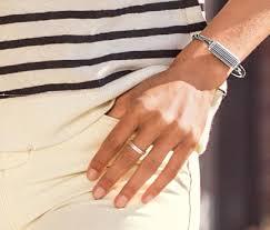 Silver Accessories Amazon Com Fitbit Flex 2 Accessory Bangle Silver Large Health
