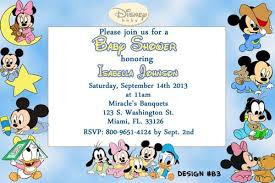 mickey mouse baby shower invitations disney baby shower invitations templates disney ba shower