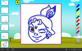 draw u0026 color chhota bheem android apps on google play