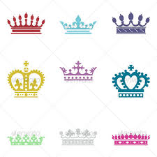 crown designs collection vector premium crown embroidery designs