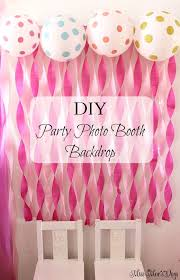 photo booth ideas diy birthday party decorations st photo booth ideas banner