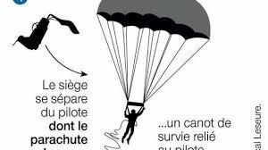 siege ejectable crash en méditerranée en rafale la survie passe par le siège éjectable