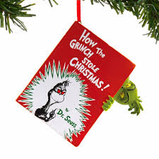 grinch dr seuss how the grinch stole ornament annual