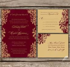 fancy indian wedding invitations gold wedding invitations rsvp printed indian