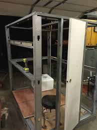 Scentite Blinds 4 U0027 X 6 U0027 Interior Metal Box Blind In The Making Used Hollow Core