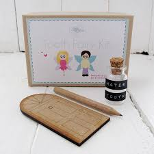 Tooth Fairy Gift Personalised Tooth Fairy Gift Set By Sarah Hurley