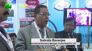 International Business Manager Subrata Banerjee From Purma Plast Pvt Ltd In Brics2016 On Green