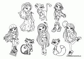 coloring pages gorgeous bratz babies coloring pages bratz babies