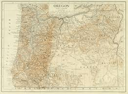 map of oregon 2 file 1911 britannica map of oregon jpg wikimedia commons