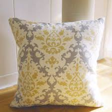Accent Sofa Pillows by Styles Yellow Throw Pillows 24x24 Decorative Pillows Yellow