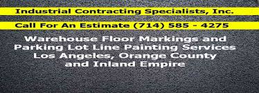 los angeles orange county area parking lot line painting pros
