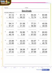 5th grade math worksheets pdf grade 5 maths exam papers