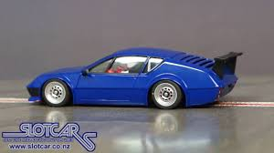renault alpine a310 interior avant slot car renault alpine blue slotcar 51107 youtube