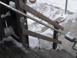 Deck Stair Handrail A Simple Handrail For Stairs On Porch Or Deck Simplified Building